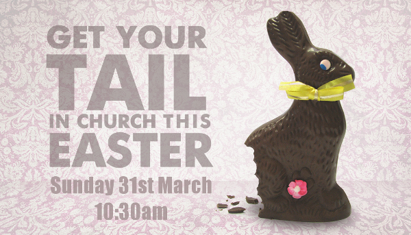 Get Your Tail Into Church This Easter